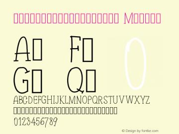 twoadventurersserif Version 001.000 Font Sample