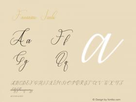 Fantastic-Italic Version 1.000图片样张