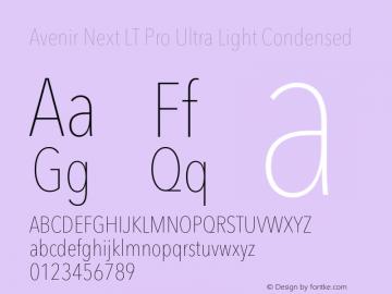 Avenir Next Lt Pro Font Avenirnextltpro Ultltcn Font Avenirnext Lt