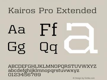 Kairos Pro Extended Version 1.00图片样张