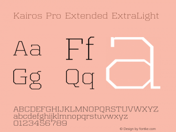 Kairos Pro Extended XLight Version 1.00图片样张