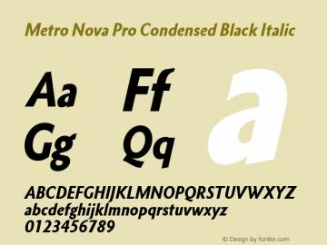 Metro Nova Pro Cond Black It Version 1.100图片样张