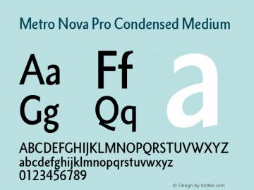 Metro Nova Pro Cond Medium Version 1.100图片样张