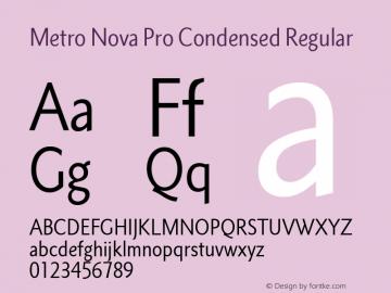 Metro Nova Pro Cond Version 1.100图片样张