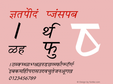 Krishna Italic Converted from C:\LBFCD\LYS_FONT\KRISHNA.TF1 by ALLTYPE Font Sample