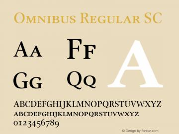 Omnibus SC Version 1.00图片样张