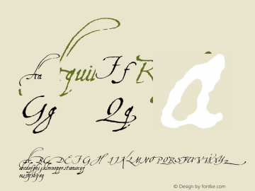 Aquiline Regular Converted from e:\_downl~1\fonts\_\AQUILINE.TF1 by ALLTYPE图片样张