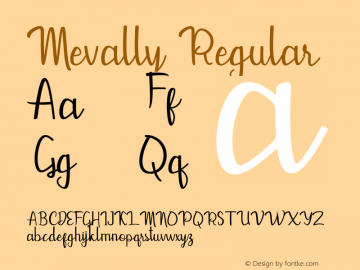Mevally 1.0图片样张
