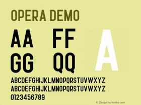 Opera Demo Version 1.002;Fontself Maker 3.0.1图片样张