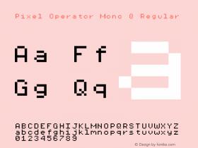 Pixel Operator Mono 8 2018.10.04-1图片样张