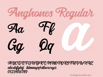 Anghones 图片样张