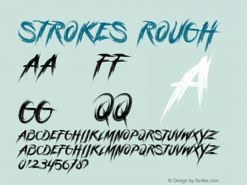 StrokesRough Version 1.000图片样张