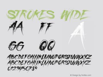 StrokesWide Version 1.000图片样张