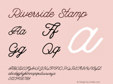 Riverside-Stamp 1.000图片样张