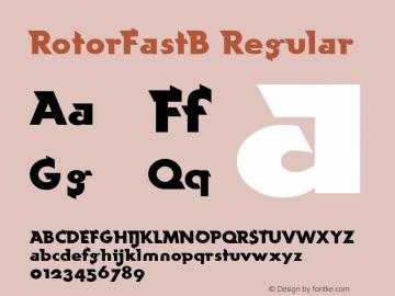 RotorFastB v1.00图片样张