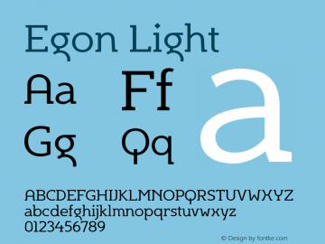 Egon-Light Version 1.000 2007 initial release图片样张