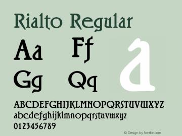 Rialto Version 1.00图片样张