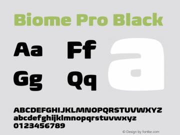 BiomePro-Black Version 1.000图片样张
