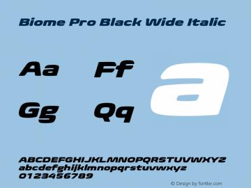 BiomePro-BlackWideIt Version 1.000图片样张