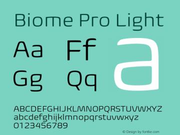 BiomePro-Light Version 1.000图片样张