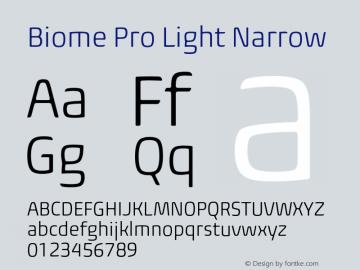 BiomePro-LightNarrow Version 1.000图片样张