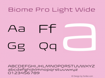 BiomePro-LightWide Version 1.000图片样张