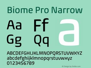 BiomePro-Narrow Version 1.000图片样张