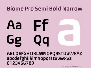 BiomePro-SmBdNarrow Version 1.000图片样张