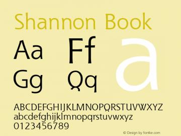 Shannon Version 1.00图片样张