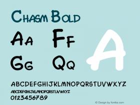 Chasm Bold 1.0/1995: 2.0/2001图片样张