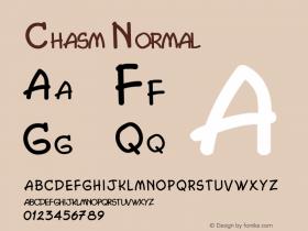 Chasm Normal 1.0/1995: 2.0/2001图片样张