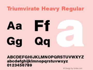 Triumvirate Heavy Version 1.0图片样张