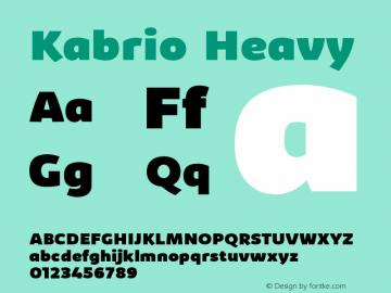 Kabrio Heavy Version 1.000图片样张