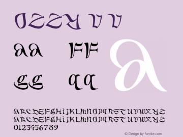 Ozzy V Version 1.000;PS 001.000;hotconv 1.0.88;makeotf.lib2.5.64775图片样张