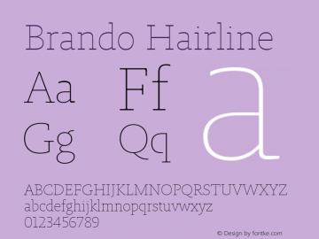 Brando Hairline Version 1.000图片样张