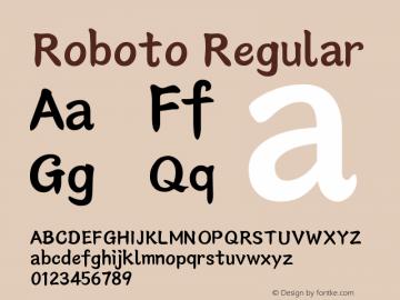 Roboto Version 1.00;July 25, 2017;FontCreator 11.0.0.2388 64-bit图片样张