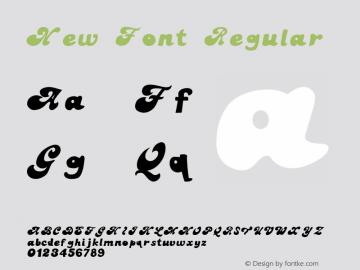 New Font Regular Version 1.000;PS 001.000;hotconv 1.0.88;makeotf.lib2.5.64775图片样张