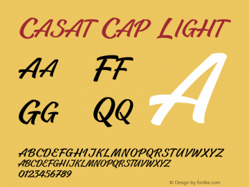 CasatCapLight Version 1.000图片样张