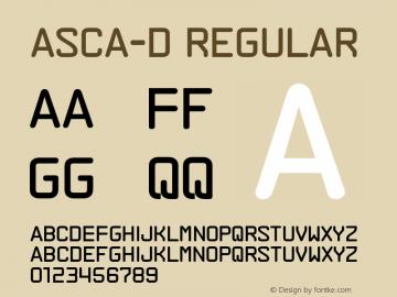 ASCA-D Version 001.001图片样张