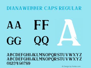 DianaWebberCaps-SVG 1.0图片样张