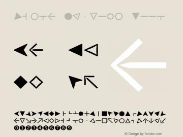 Viska Symbols Book Version 1.001;PS 001.001;hotconv 1.0.70;makeotf.lib2.5.58329图片样张