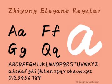 Zhiyong Elegant Version 1.00图片样张