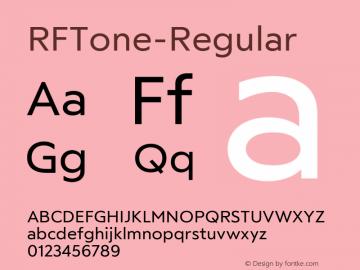 ☞RFTone-Regular Version 1.000;com.myfonts.easy.russian-fonts.rf-tone.regular.wfkit2.version.5cgz图片样张