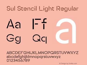 SulStencilLight Version 1.0图片样张
