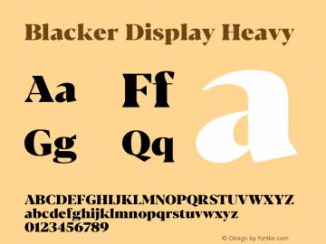 BlackerDisplay-Heavy Version 1.0 | w-rip DC20180110图片样张