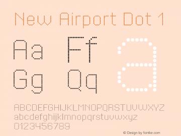 NewAirportDot1 Version 1.001图片样张