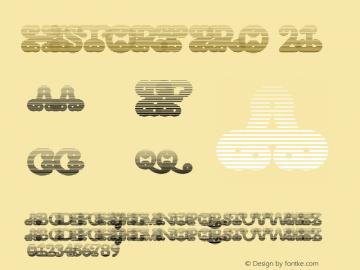 HistoryPro-TwentyOne Version 1.0; 2013图片样张