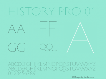 HistoryPro-One Version 1.0; 2013图片样张