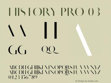 HistoryPro-Three Version 1.0; 2013图片样张
