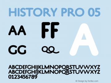 HistoryPro-Five Version 1.0; 2013图片样张
